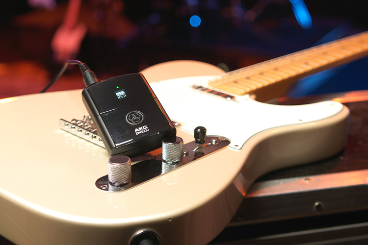 Guitar and wireless system