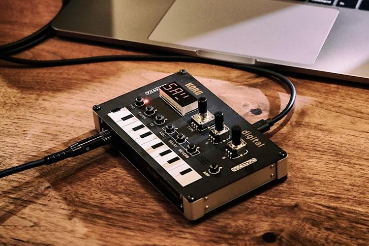 Nu:Tekt NTS-1 Digital Kit assembled