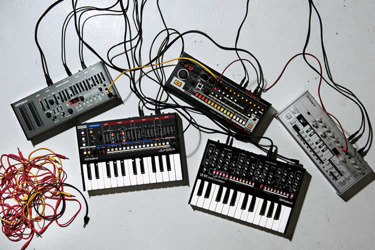 Portable. battery-powered synths