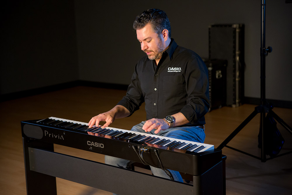 Rich Formidoni playing a PX-S1000