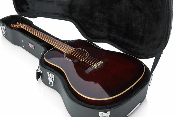 Acoustic Guitar in a case