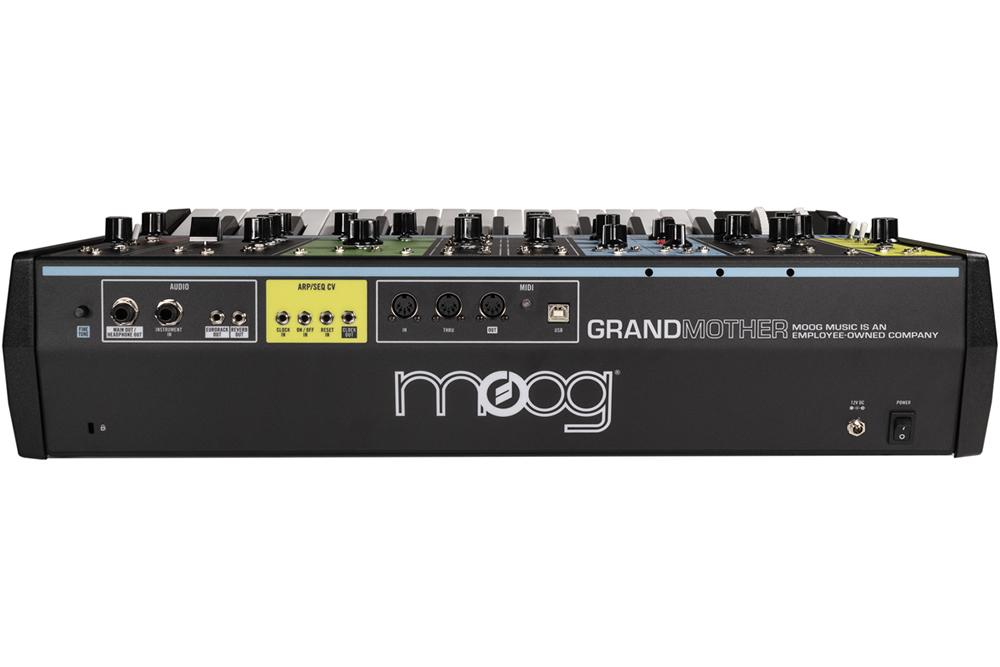 Moog Grandmother Back