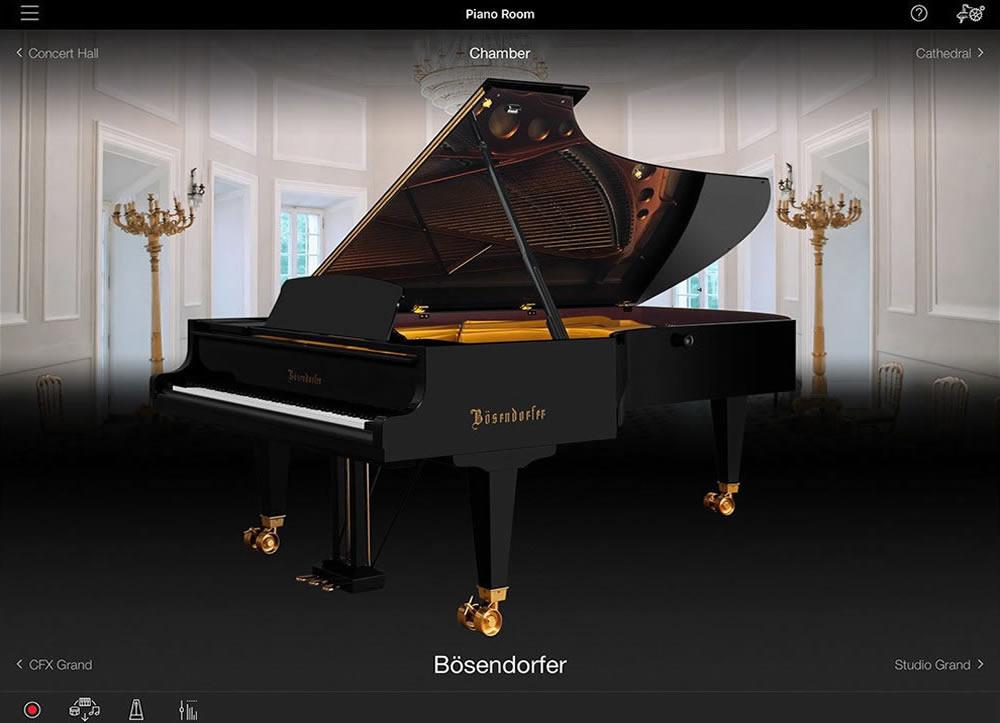 Smart Pianist 2.0 Piano Room Screen Shot