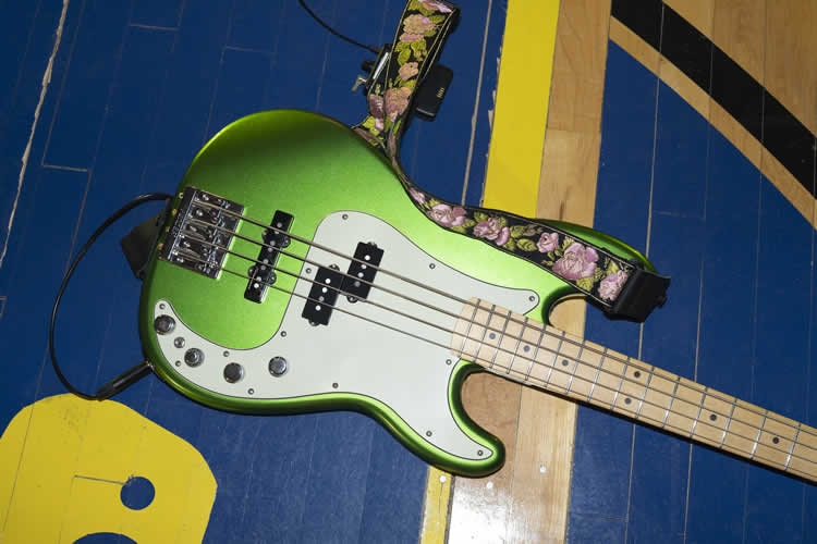 Player Plus Precision Bass on gym floor