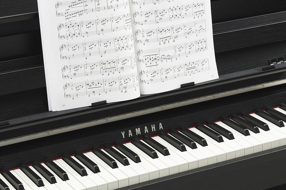 Clavinova with music
