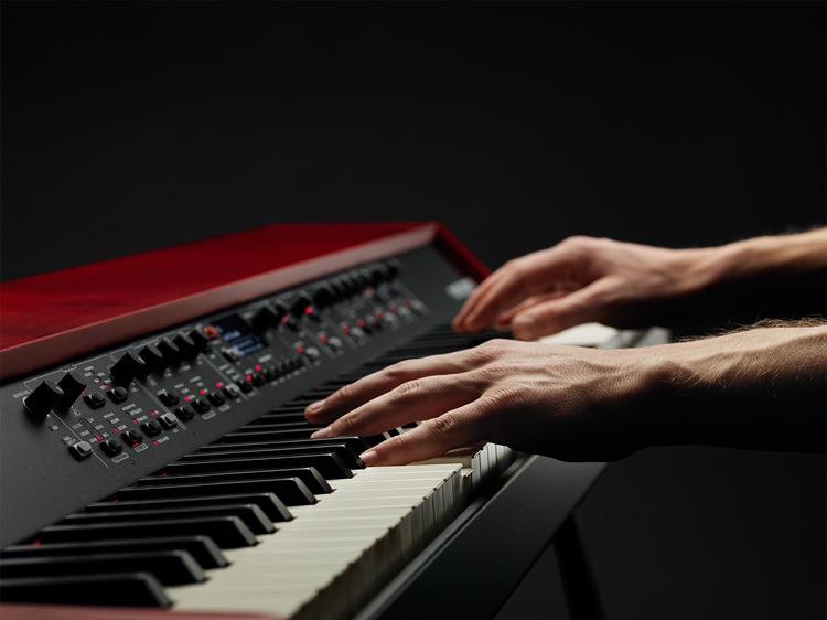 Nord Grand Closeup Angled with Hands