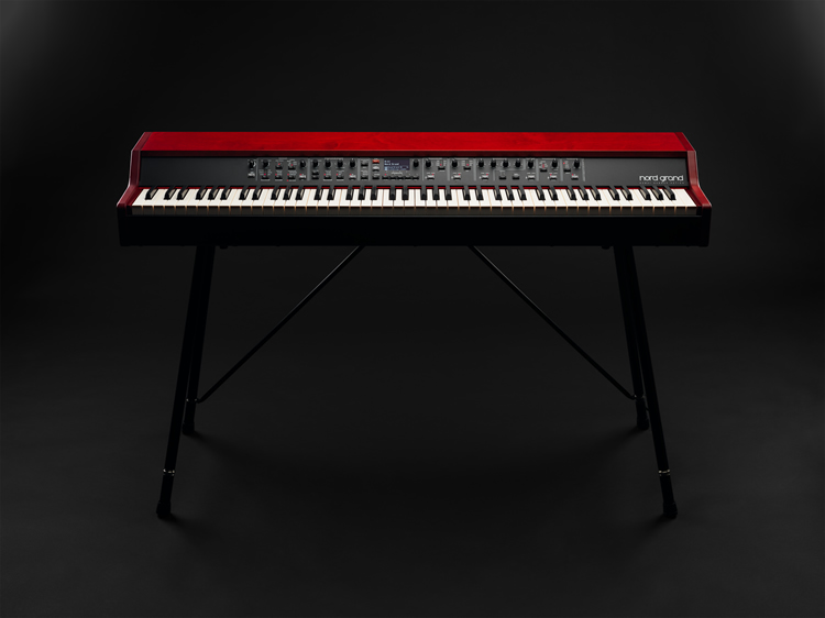 Nord Grand Front on Keyboard Stand EX