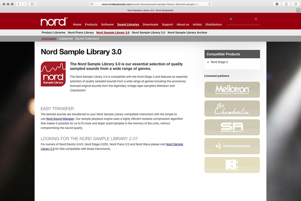 Nord Sample Library 3.0