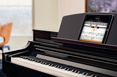 Image of Yamaha Clavinova digital piano