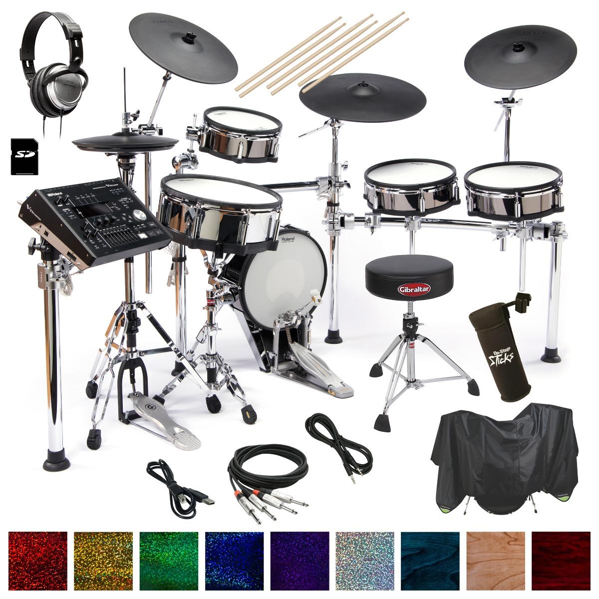 TD-50KV Drum Essentials Bundle