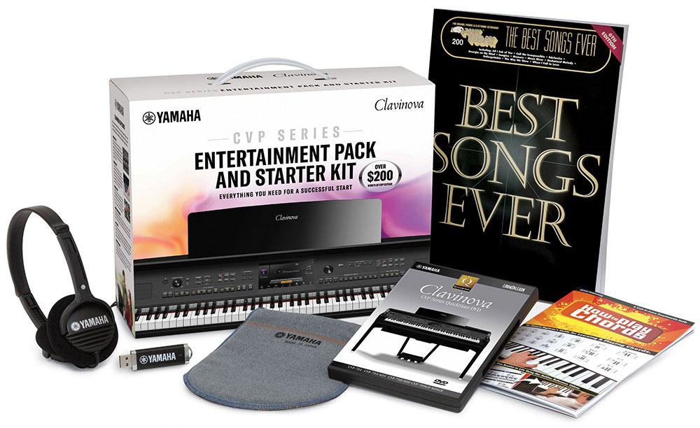 Image of Yamaha CVP Entertainment Pack