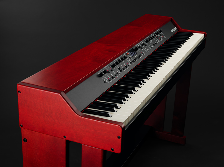 Nord Grand on Nord Wood Keyboard Stand