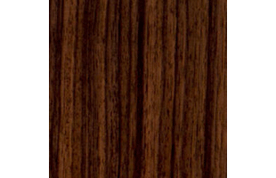Indian rosewood wood swatch showing typical color and grain pattern