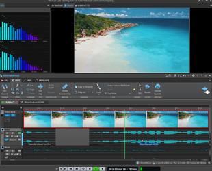 Image of Steinberg WaveLab Cast video window