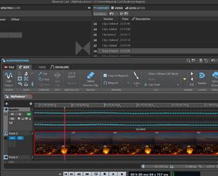 Image of Steinberg WaveLab Cast full screenshot