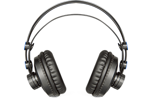 front view of PreSonusHD7 headphones