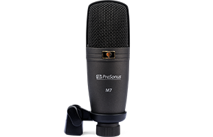 front view of PreSonus M7 microphone
