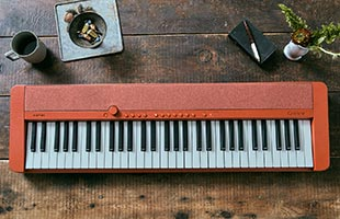 top view of Casio Casiotone CT-S1 - Red