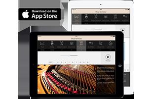 Kawai Virtual Technician tablet app