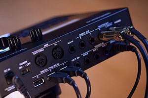Image of TD-27 module trigger inputs