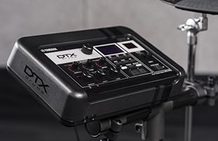 Yamaha DTX-PRO drum module on stand