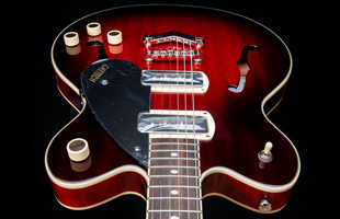 Image of Gretsch G2622-P90 body from the headstock down