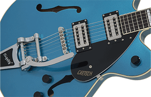 detail top view of Gretsch G2622T showing body