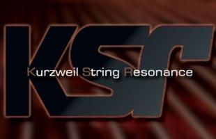 logo graphic for KSR Kurzweil String Resonance technology