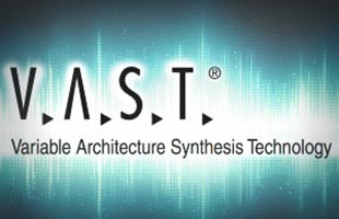 Kurzweil V.A.S.T. Variable Architecture Synthesis Technology logo