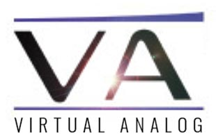 logo graphic showing the letters VA and the words VIRTUAL ANALOG