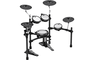 perspective view of Kat Percussion KT-300 showing back and right side