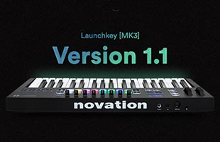 logo graphic for Novation Launchkey MK3 firmware version 1.1