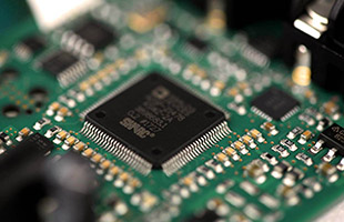 detail image of SHARC DSP processor