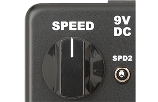 detail image of Neo Instruments Micro Vent 122 showing speed controls