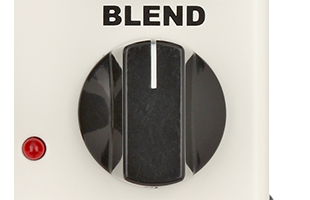 detail image of Neo Instruments Micro Vent 16 showing BLEND knob