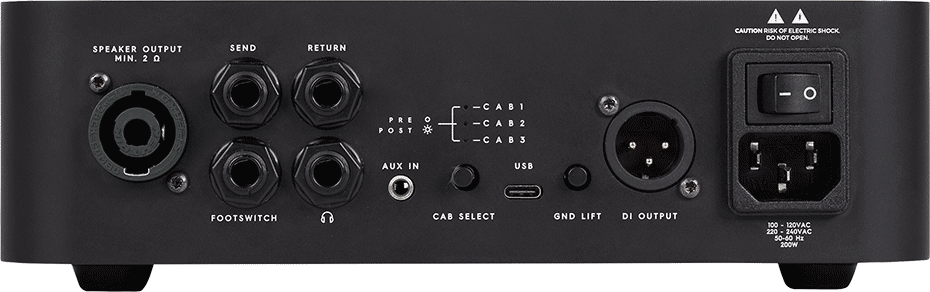 rear view of Darkglass Microtubes 500v2