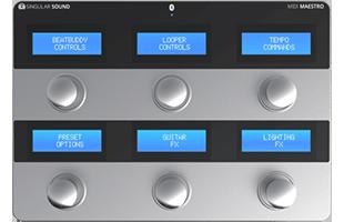 top view of Singular Sound MIDI Maestro