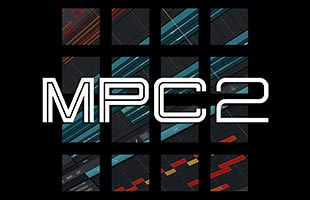 logo graphic for Akai Professional MPC 2.9 desktop computer software