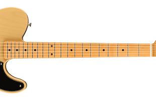 detail back image of Fender Noventa Telecaster showing fretboard