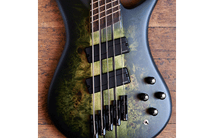 detail image of Spector NS Dimension 5 showing Fishman Fluence pickups