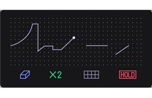 Teenage Engineering OP-1 screen showing sketch sequencer