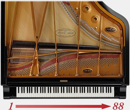 88 Key Sampling