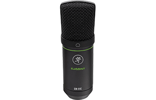 front view of Mackie EM-91C large-diaphragm condenser micrphone