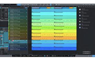screenshot from PreSonus Studio One 5 Professional showing Chord Track interface