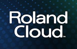 logo for Roland Cloud online sound subscription service
