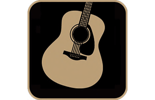 icon illustration representing acoustic microphone modeling technology in Yamaha THR30IIA Wireless