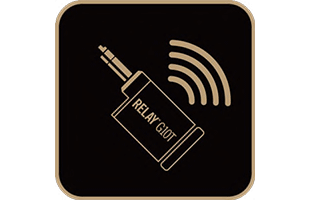 icon illustration representing built-in wireless receiver in Yamaha THR30IIA Wireless