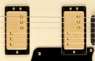 detail image of Fender Troublemaker Tele showing pickups