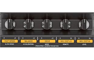 detail closeup of Neo Instruments Ventilator II control knobs