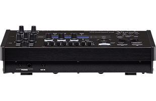 perspective view of Roland TD-50X electronic drum sound module showing front and top